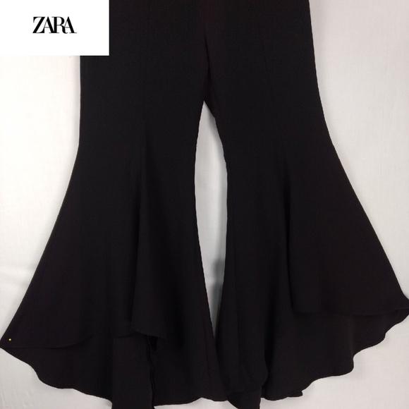 3fe07c259d Zara Pants | Woman Ruffle Flare | Poshmark